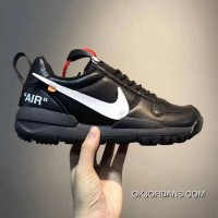 Men Off White X Nike Craft Mars Yard Running Shoe SKU:135878-250 Latest