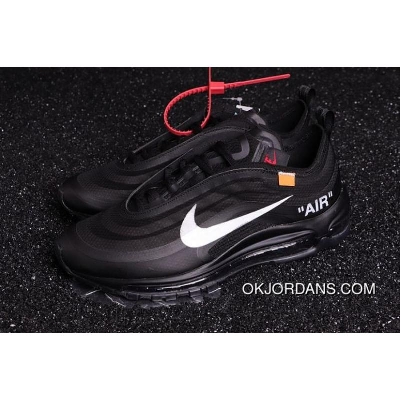 air max 97 off white black release