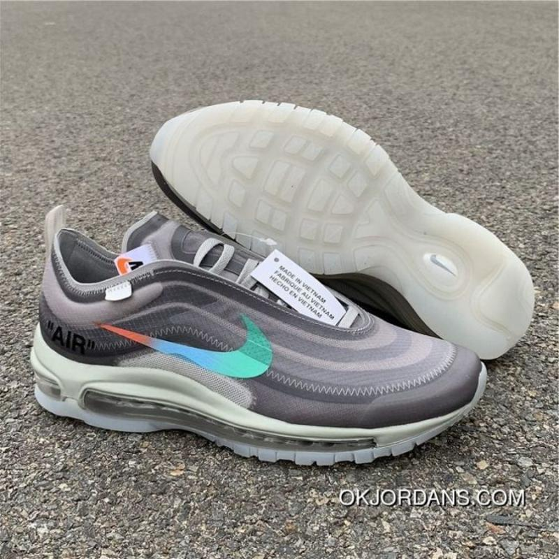 best service dd8ae bd4fd USD  115.43  311.67. Top Men Off White X Nike Air Max 97 Menta Series AJ4585  ...