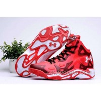 Cheap Under Armour Micro G Anatomix Spawn 2 Wholesale Red White Discount Tj82xW