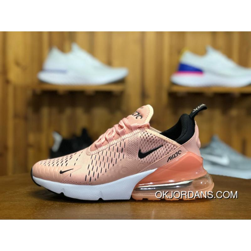 180 Nike Air Max 270 Participants In God Shallow Pink Zoom Air Women Running Shoes Size AH6789 600 Copuon