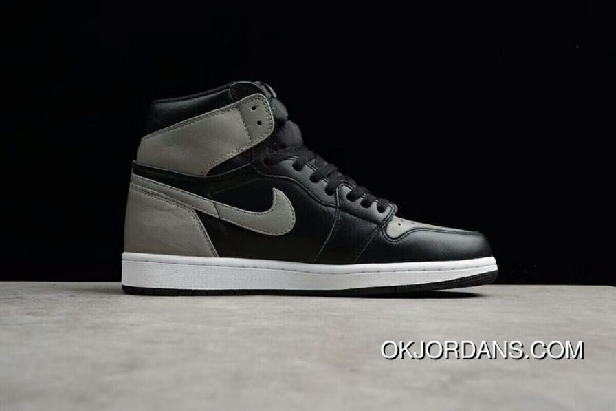 size 40 b6b45 219ad Pure Original Instruction Level New Stock Is First Air Jordan 1 Retro High  OG Shadow Grey