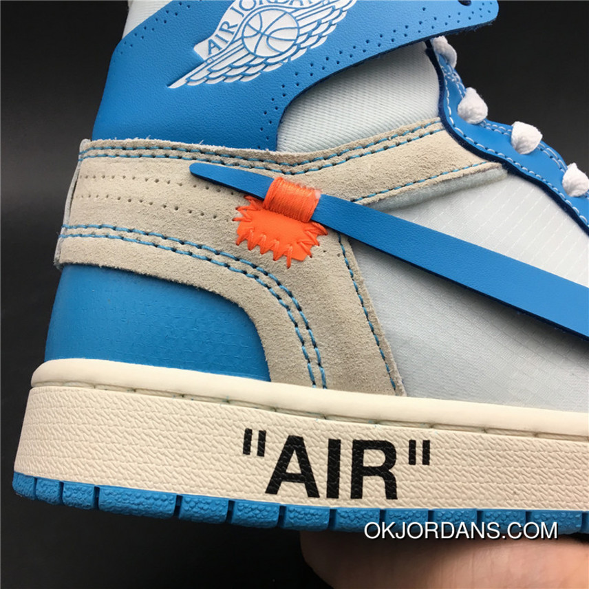 9bad6f3c623 God Version 1 North Carolina Colorways Jordan OFF-WHITE Air 1 X Powder Blue  God