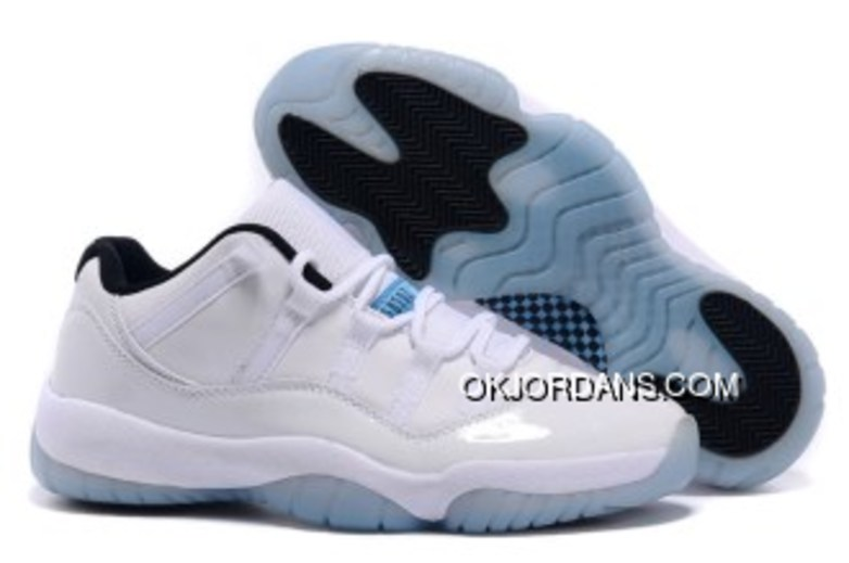 Discount Air Jordan 11 Retro Low PE White/Black-Legend Blue
