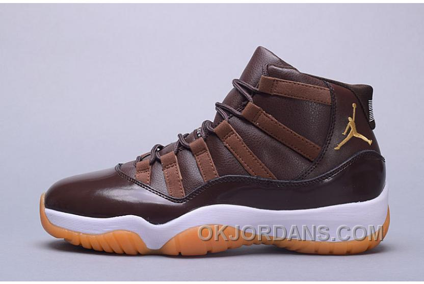Air Jordan 11 Hamilton Chocolate Gum Free Shipping QnSHc