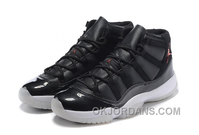 "2016 Girls Air Jordan 11 ""72-10″ Black/Gym Red-White-Anthracite Copuon Code Hp5dc"