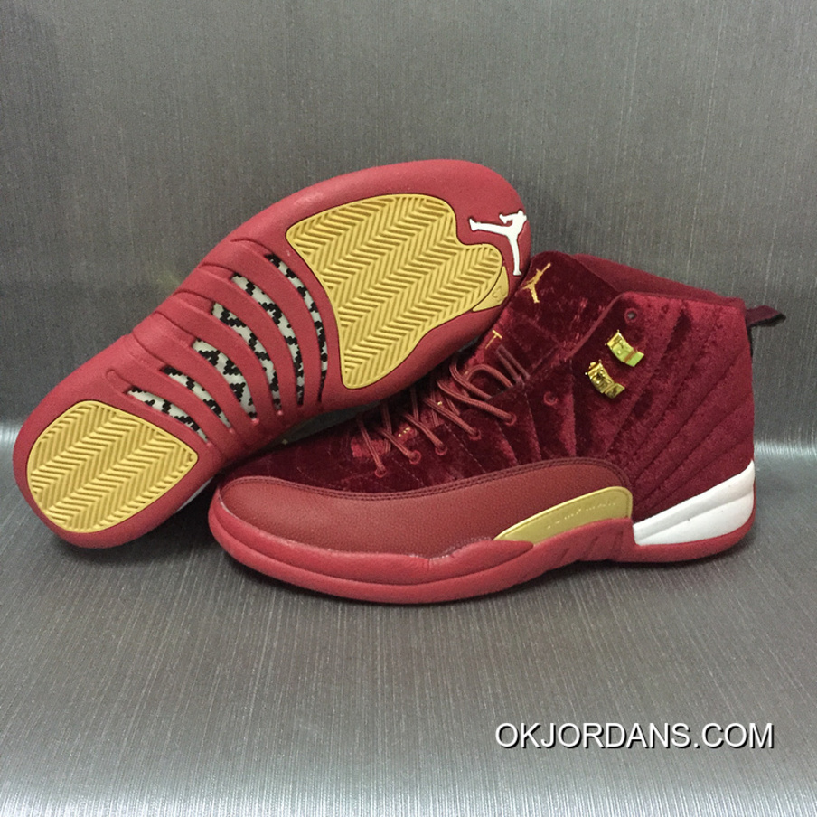 AJ12 Burgundy Velvet Air Jordan 12 Best QF8px