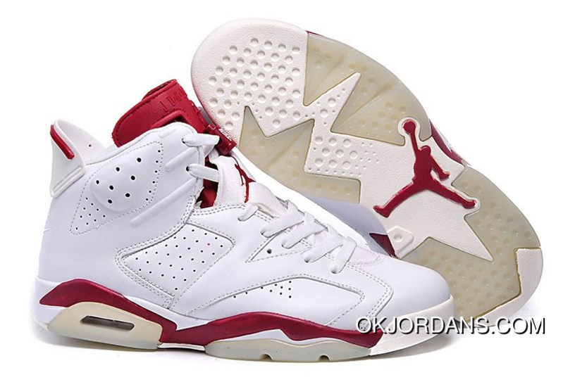 new product 71f26 8bcf6 Best Air Jordan 6 Retro Maroon Off White 2015