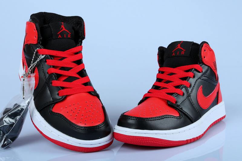 Air Jordan 1 Retro High OG Bred Black Red ... f3027c3136