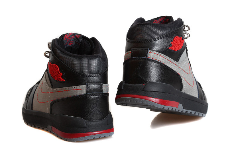 Air Jordan 1 Trek Cool Grey Gym Red Black