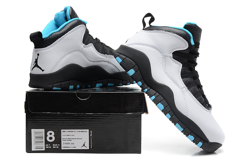 Air Jordan 10 Retro Powder Blue