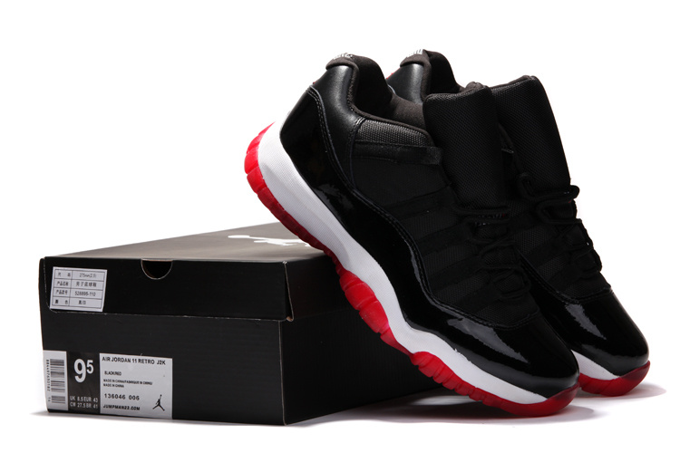 huge discount 0aaab 01823 buy women air jordan retro 11 low red black red 805cc 27a3d