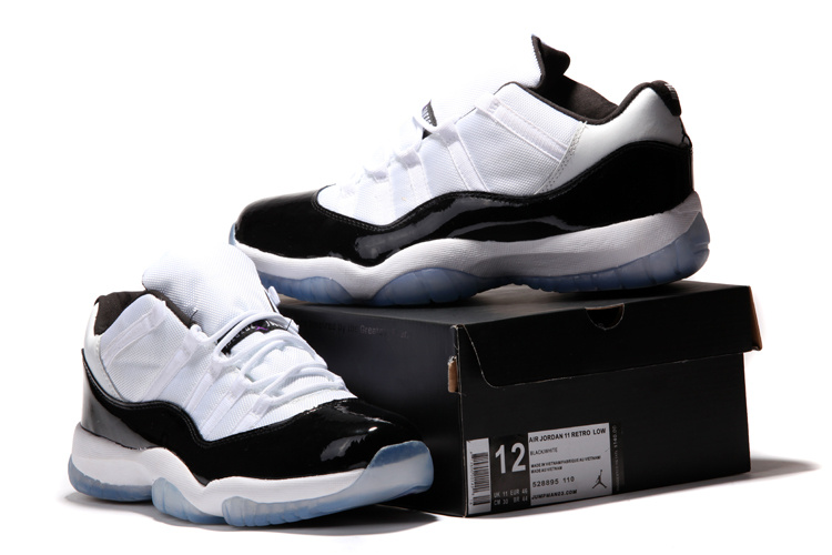 be994b166a4 ... Jordan 11 Low Concords White Black Dark Concord ...