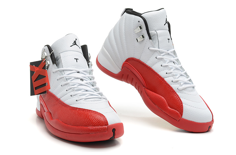 Air Jordan 12 White Varsity Red Black Price 74 55 Jordan Shoes
