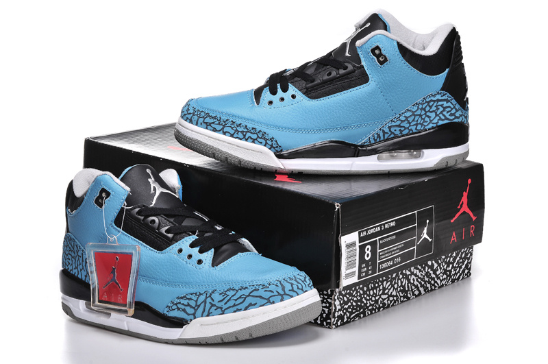 2ea84ce9399ac7 cheap nike air jordan 3 powder blue 7158e 17af5