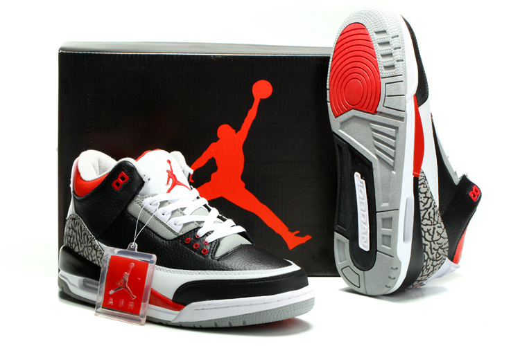 best sneakers b0af5 f0b58 ... white and black for adults and kids 5f7c2 3175f  uk air jordan 3 retro  black varsity red cement grey 2941f 60149