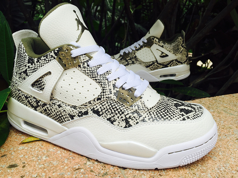 Air Jordan 4 Snakeskin basketball shoes