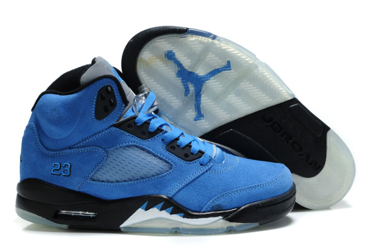 outlet store 4a831 bc5ec ... canada air jordan 5 retro suede true blue black 3df10 d0cd7