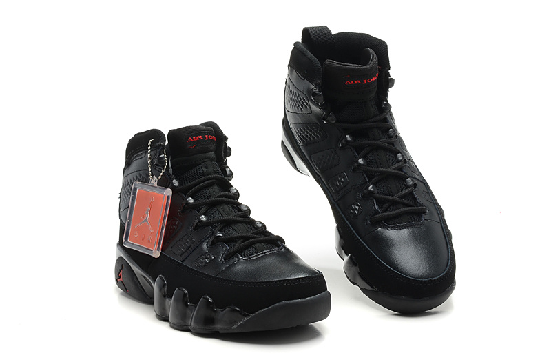 newest collection 16363 2ab68 Jordan 9 Black Red