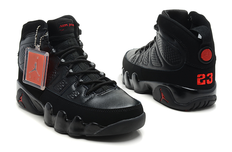 newest collection 1f7e7 db427 Jordan 9 Black Red