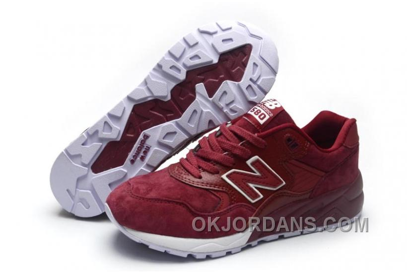 2016 New Balance 580 Men All Red MeA8f