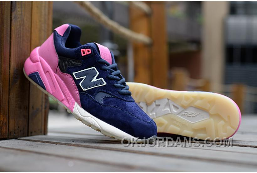 New Balance 580 Men Blue Pink PMtAC