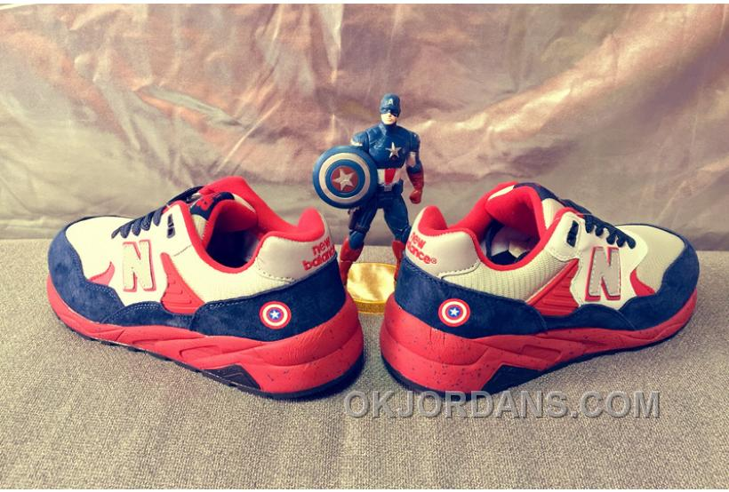 New Balance 580 Men Blue Red T8jAA