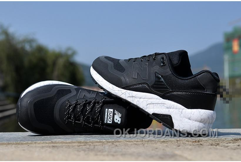 2016 New Balance 580 Women Black QMySb