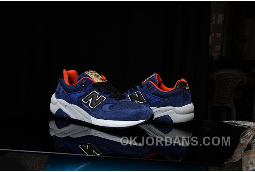 2016 New Balance 580 Women Blue B6fHE