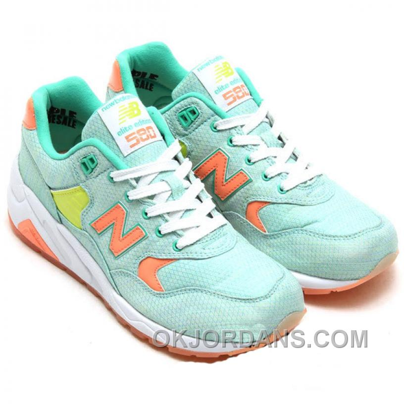 New Balance 580 Women Light Green PFPEx