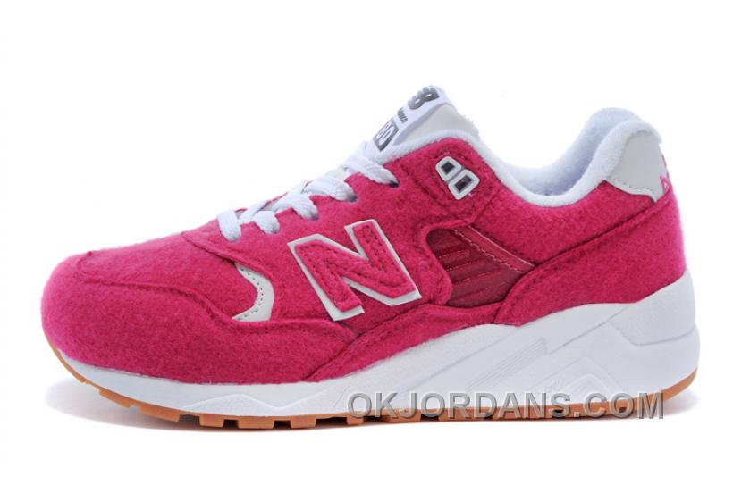 New Balance 580 Women Water Red FHZxN