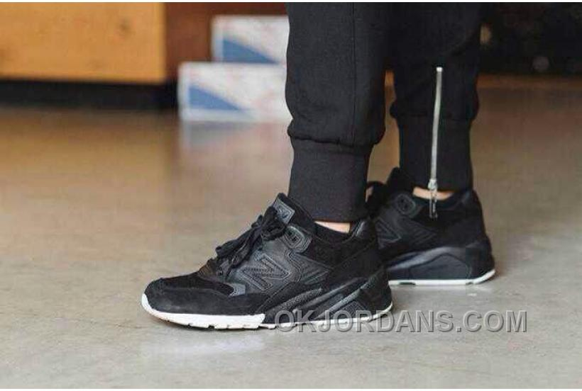 New Balance 580 Women All Black AY46p