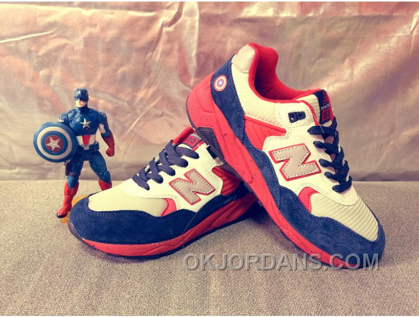 New Balance 580 Women Blue Red HeNhf