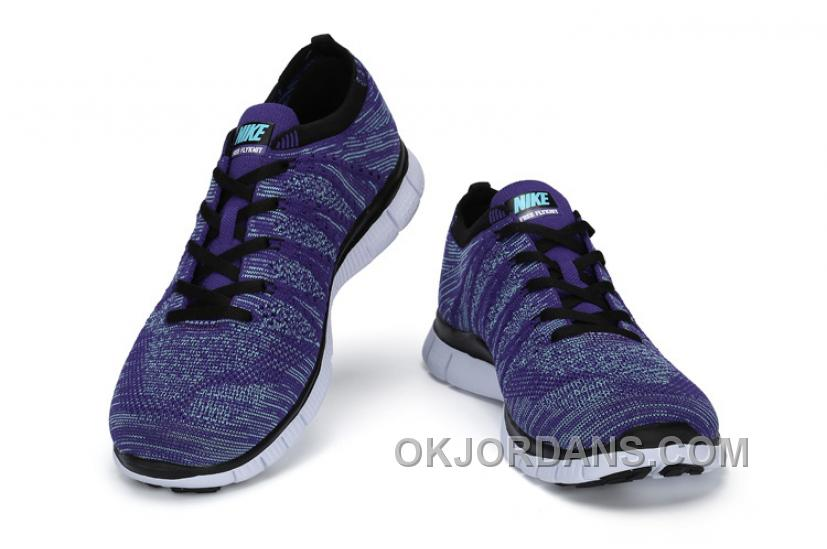 NIKE 5.0 599459-500 Flyknit Purple White Blue For Sale TsfYai