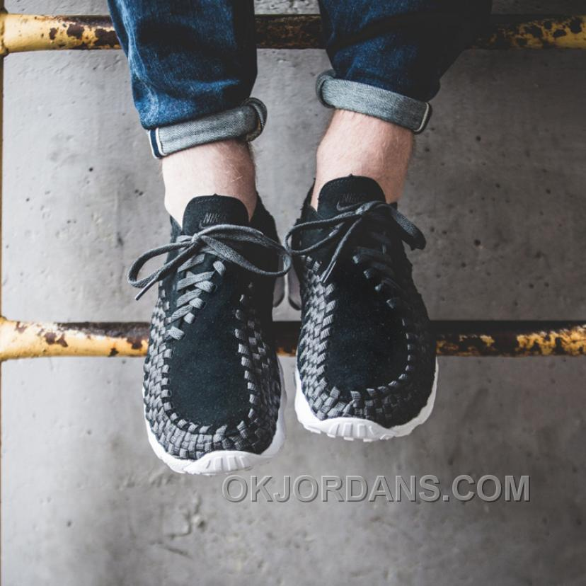 Nike Air Footscape Woven NM Black/Anthracite 875797-001 Discount DrESiP