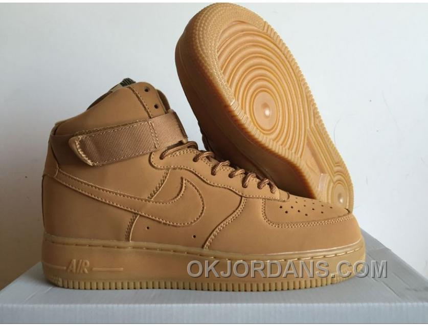 buy online 6e263 7ce6c Nike AF1 High 07 LV8 FALX 806403-200 Matte Leather Men Women Authentic