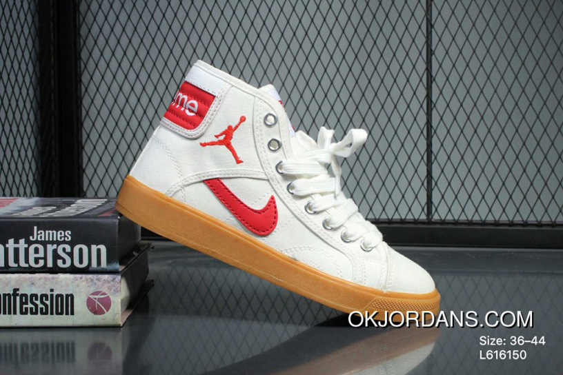 Jordan Air Jordan Skyhigh Og L616150 Women Men White Red New Release