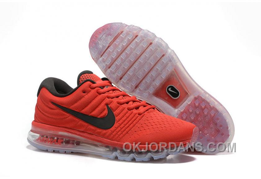 Authentic Nike Air Max 2017 Red Black New Release WzXxs