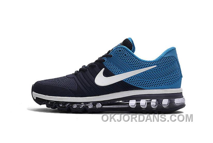 Authentic Nike Air Max 2017 KPU Navy White Blue New Style EzTc57K