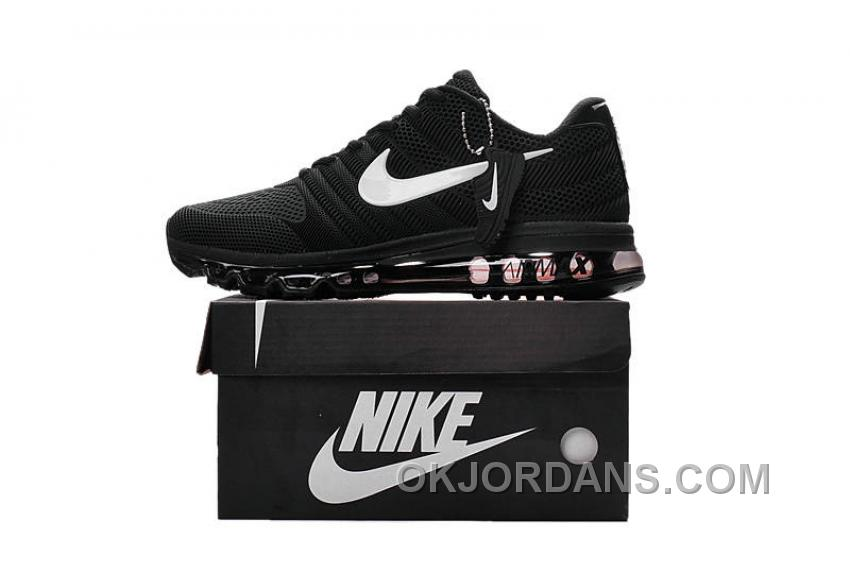 low priced 087e9 3f6aa Authentic Nike Air Max 2017 KPU Black White Super Deals ZMxybZB