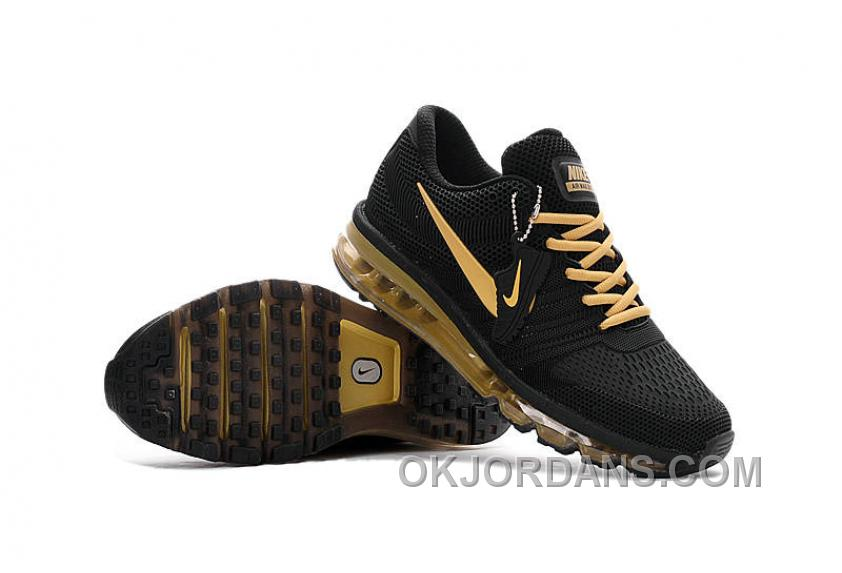 Authentic Nike Air Max 2017 KPU Black Gold Top Deals NP8Tw