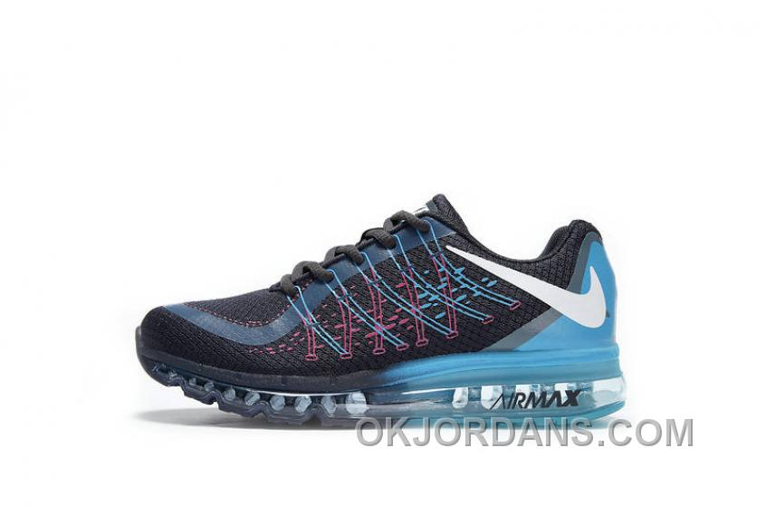 Authentic Nike Air Max 2017 3D Black Blue Pink Online RENX8s