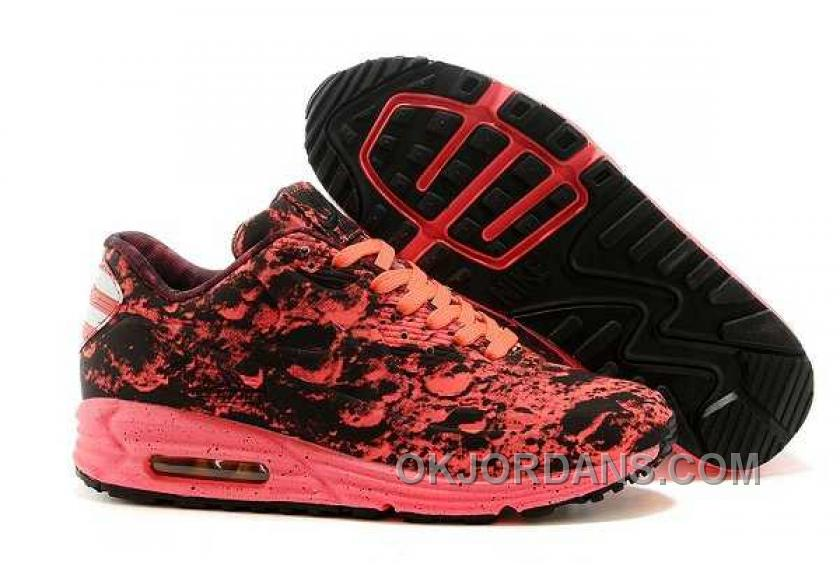 Nike Air Max 90 Womens Red Reflective Cheap To Buy JdKPK