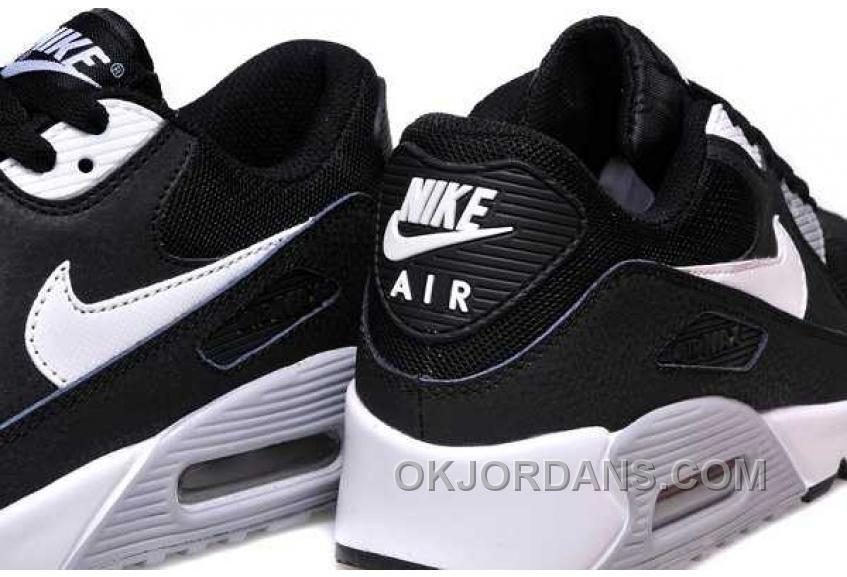 Nike Air Max 90 Womens Black Blue Free Shipping He8My