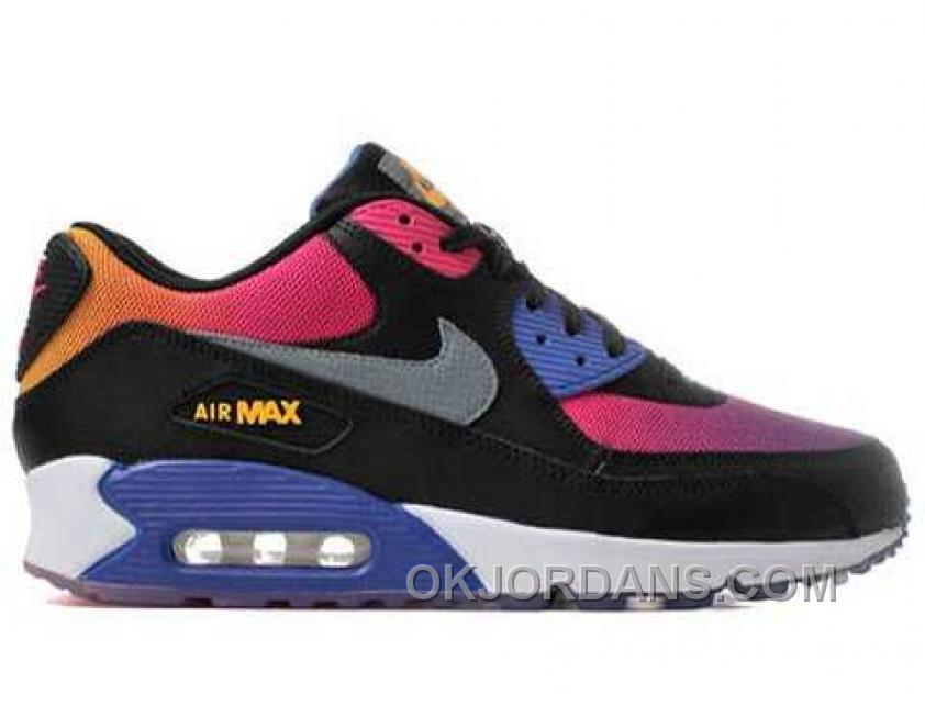 Nike Air Max 90 Womens White Black Red Discount E45jn