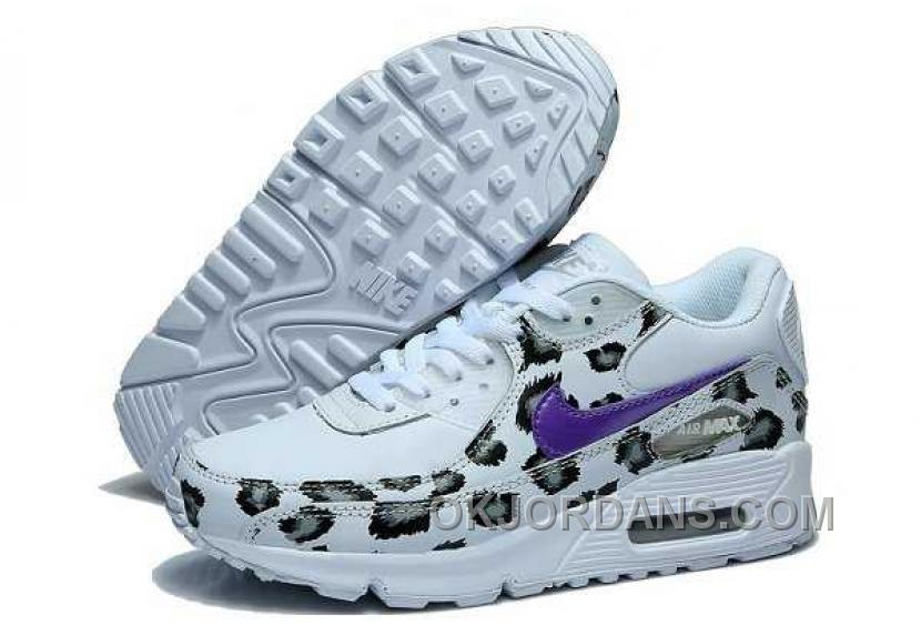 Nike Air Max 90 Womens White Black Purple Christmas Deals 8aWbf