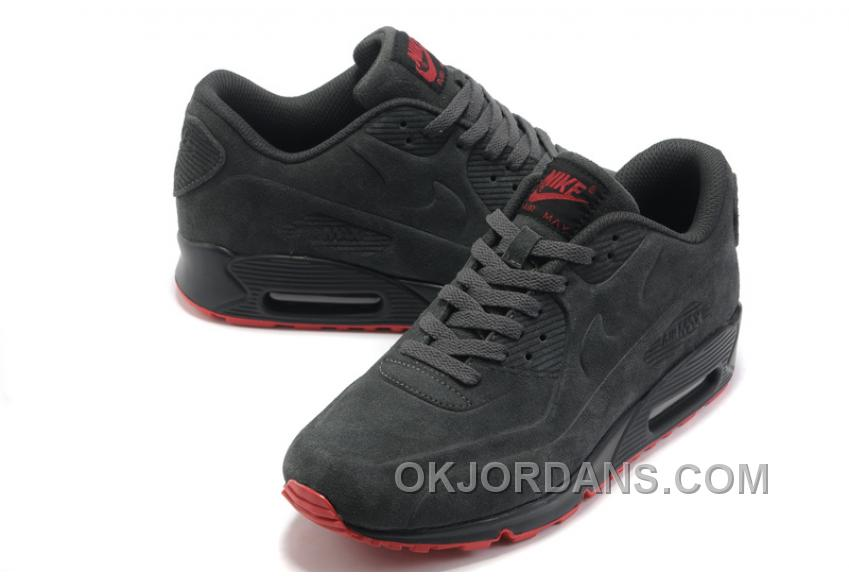 Nike Air Max 90 VT Womens Black Red For Sale 7QyYF