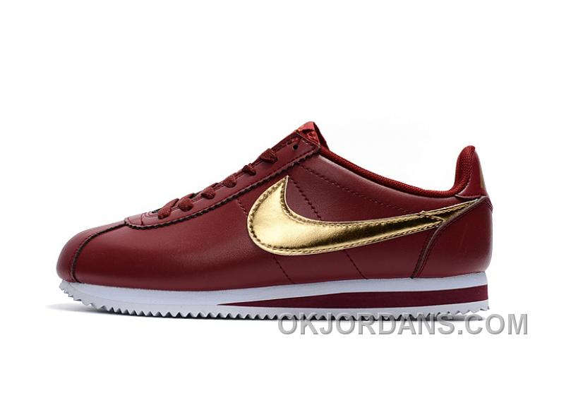 more photos aa249 23490 NIKE CORTEZ NYLON PRM Burgundy Online 3nsr6