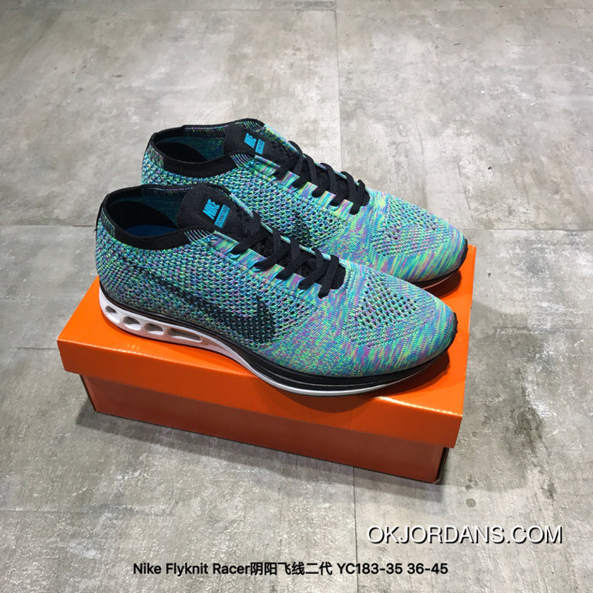 new concept a0528 428d7 Nike Flyknit Racer Split FLYKNIT 2.0 Air Max Zoom YC183-35 New Year Deals