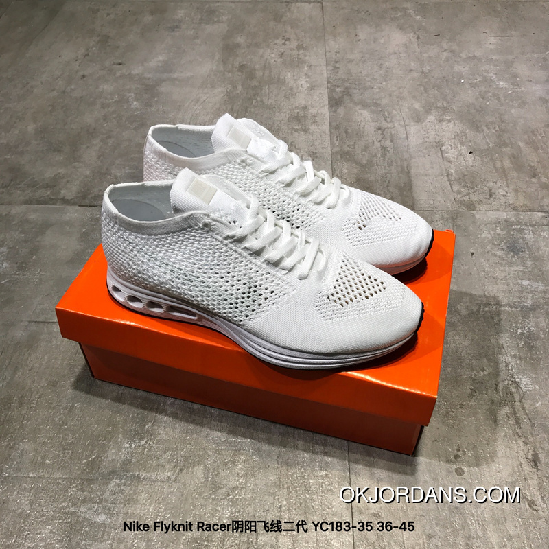new concept 8233f e4993 Nike Flyknit Racer Split FLYKNIT 2.0 Air Max Zoom YC183-35 New Year Deals